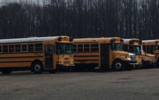 Contractors own and operate over 500 buses used in Anne Arundel County.